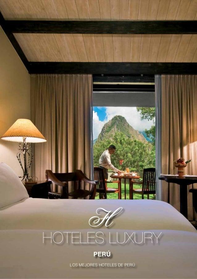 Los mejores hoteles del Peru