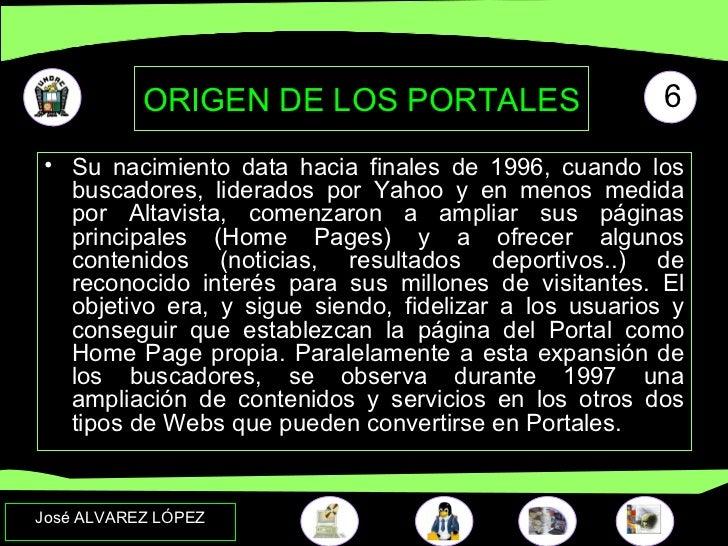 LOS PORTALES EDUCATIVOS