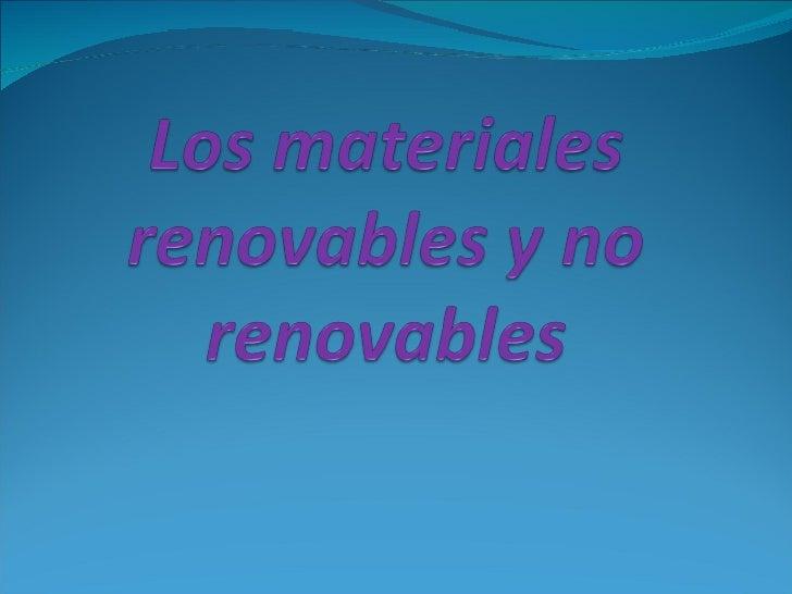 Los recursos renovables Estos son conocidos tambien como factores bióticos, y  tienen la capacidad de reproducirse, y por...