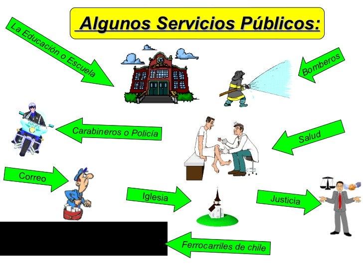 Servicios Publicos Ejemplos Algunos Servicios Públicos la