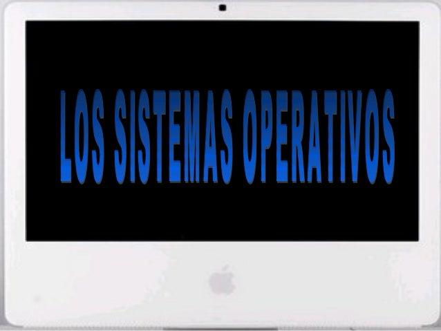 Sist. Operativo • Definición: es el software principal del ordenador que se inicia al encender el ordenador y que posibili...