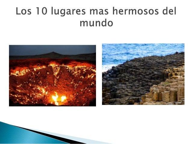 Los 10 lugares mas hermosos del mundo - Los banos mas bonitos ...