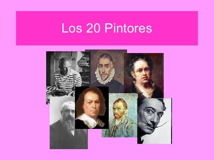 Los 20 Pintores