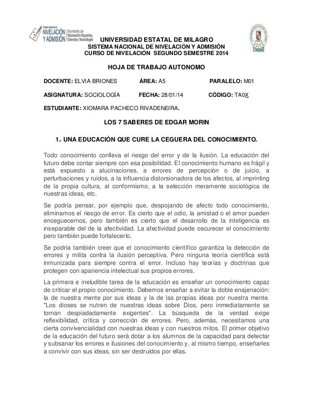 UNIVERSIDAD ESTATAL DE MILAGRO SISTEMA NACIONAL DE NIVELACIÓN Y ADMISIÓN CURSO DE NIVELACIÓN SEGUNDO SEMESTRE 2014  HOJA D...