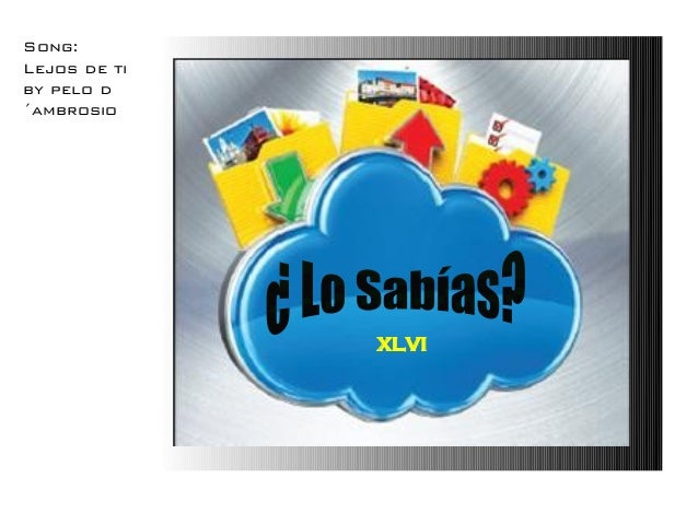 XLVI Song: Lejos de ti by pelo d ´ambrosio