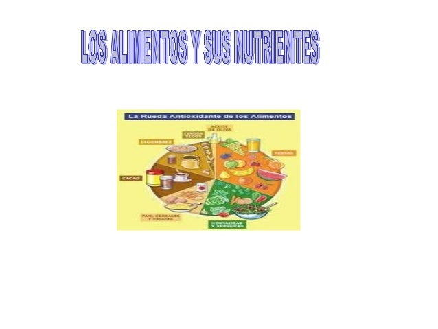 Los alimentos y sus nutrientes