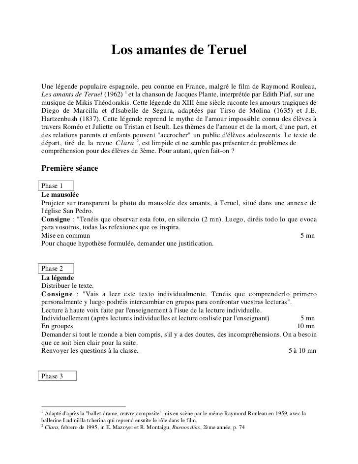 Les Amants De Teruel Ecosia