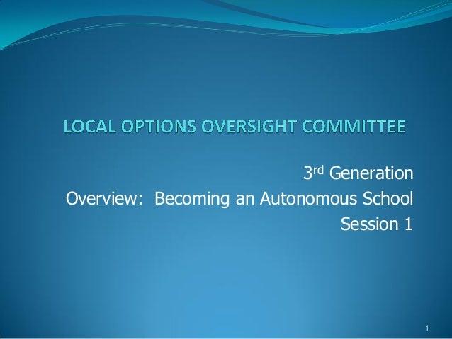 Los Angeles Autonomy Framework