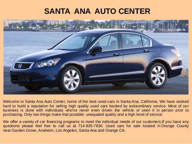 orange county used cars for sale. Black Bedroom Furniture Sets. Home Design Ideas