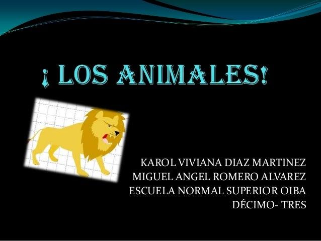 ¡CLASIFICACIÓN DE LOS ANIMALES!