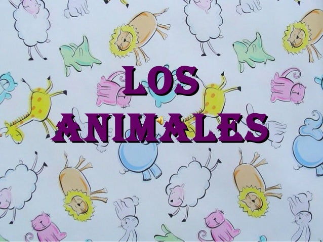 Los animales (1)