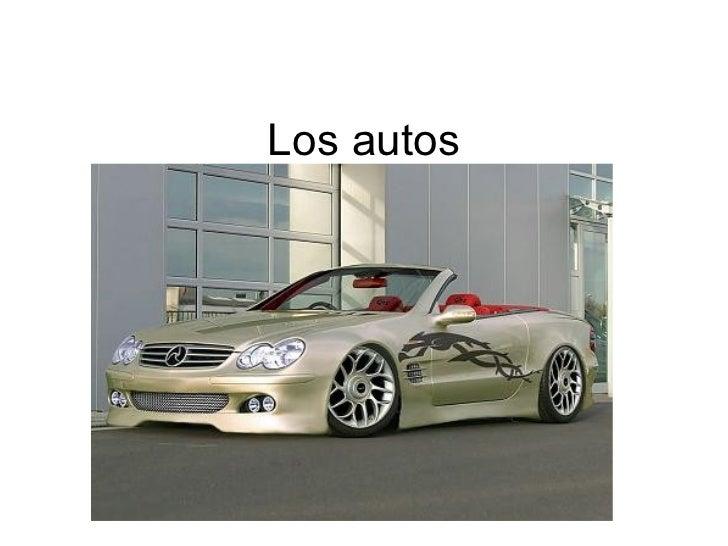 Los autos