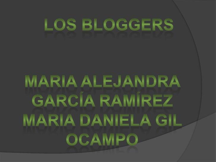 Los Blogger Trabajo De Tecnologia