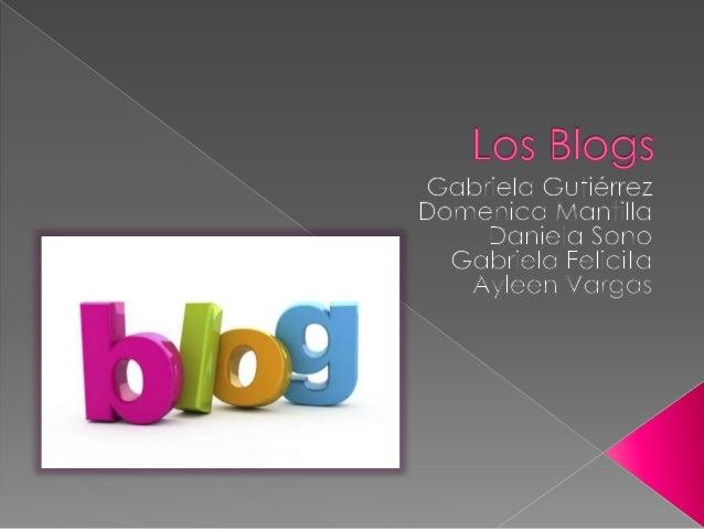  Un blog nos puede servir para informarnos acerca de un tema especifico. Los artículos de un blog suelen estar acompañado...