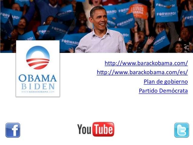 Los Candidatos - Elecciones EEUU 2012