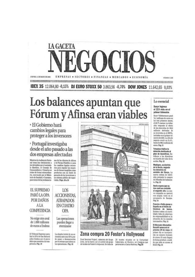 SEPBLAC niega que exista blanqueo de dinero en Afinsa 16-2-07