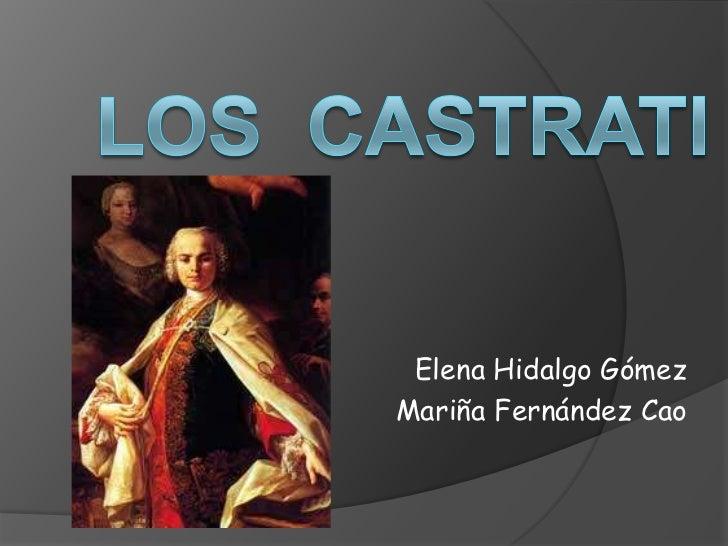Elena Hidalgo GómezMariña Fernández Cao