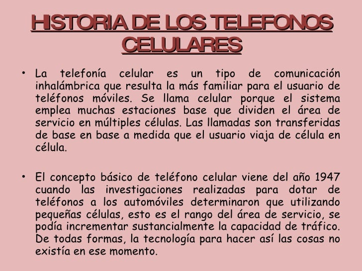 Post Historico 2 Historia Del Celular Taringa