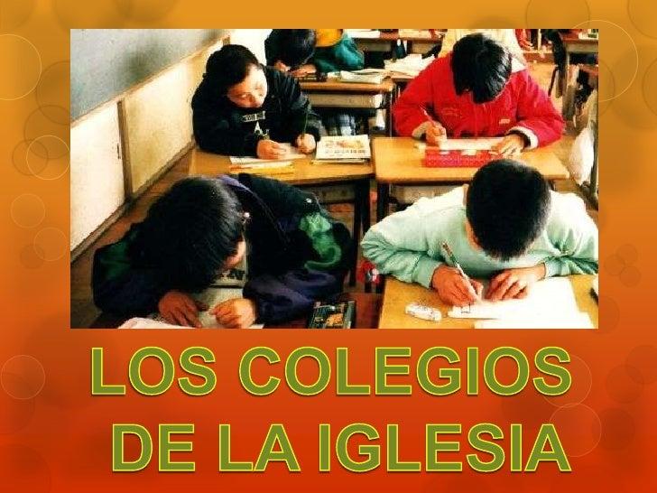 El objetivo general y urgente de la evangelización está pidiendoclamorosamente una revisión del proyecto educativo de los ...
