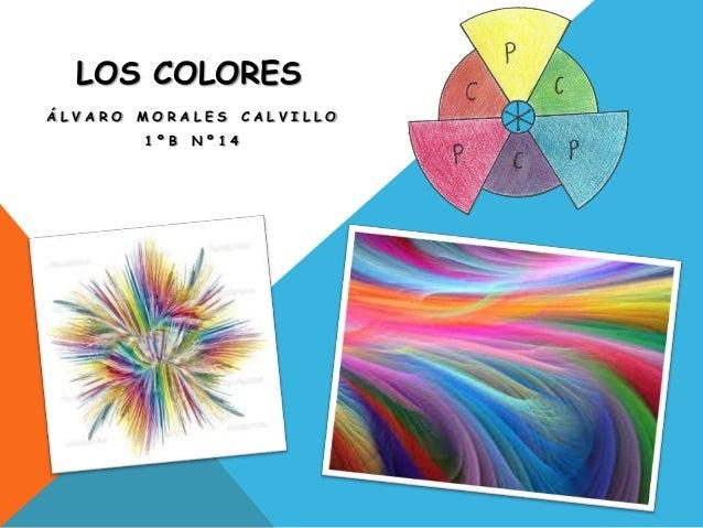 LOS COLORESÁLVARO   MORALES      CALVILLO         1ºB   Nº14