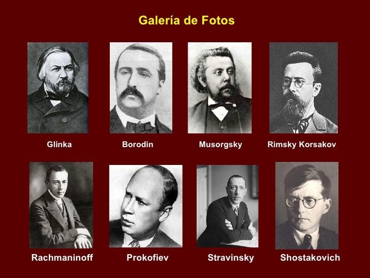 Los compositores clasicos rusos - Nombres clasicos espanoles ...