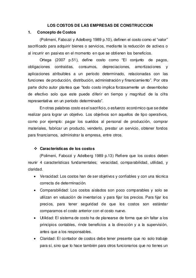 Los costos de las empresas de construccion - Empresas de construccion valencia ...