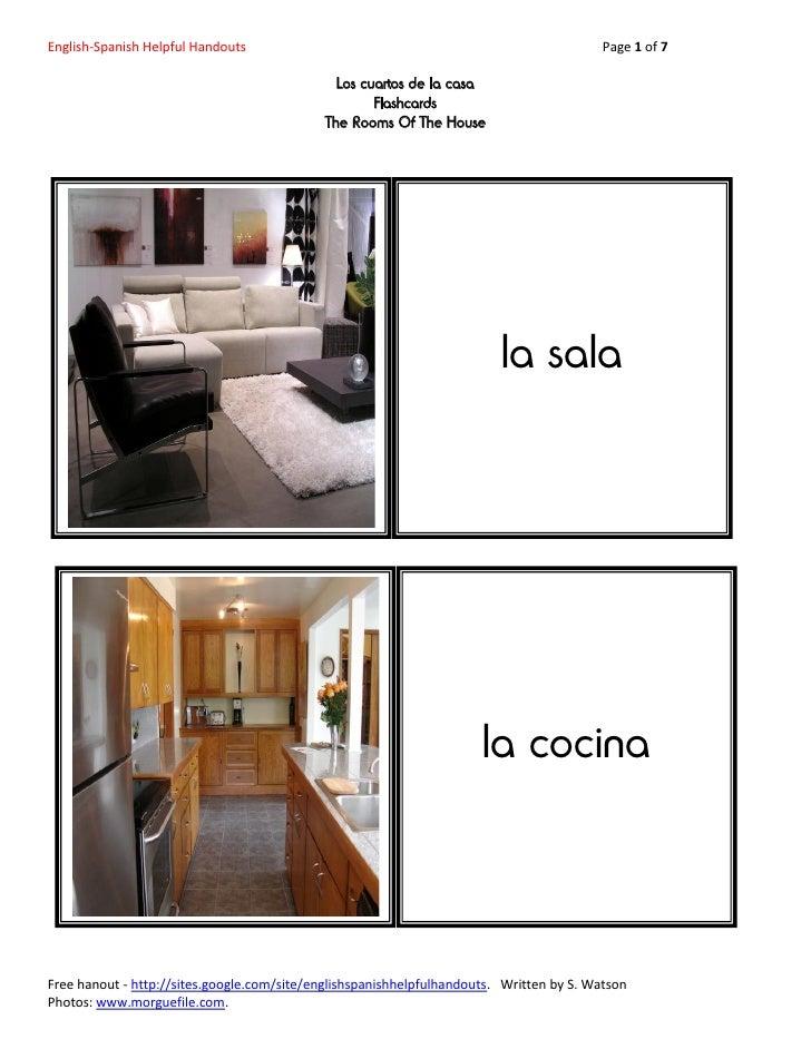 English-Spanish Helpful Handouts                                                          Page 1 of 7                     ...