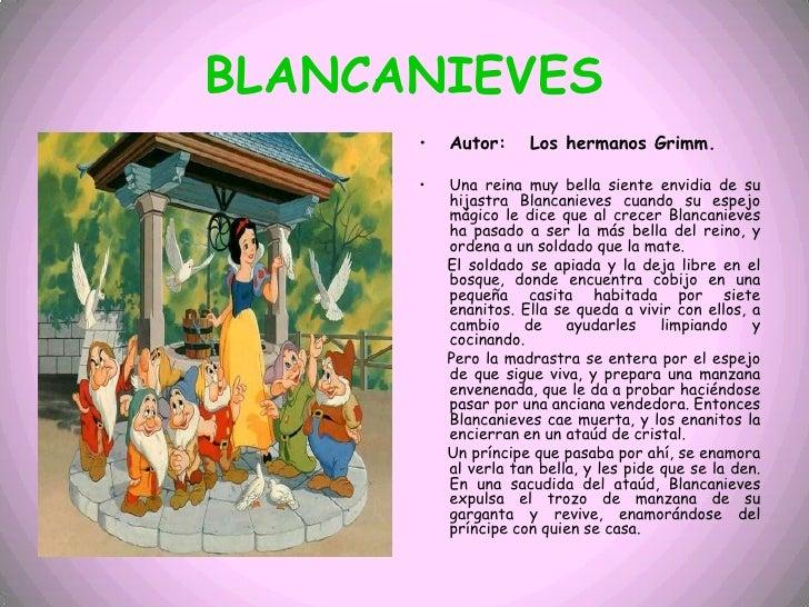 Cuento de blancanieves audio los cuentos presentaci 243 n - Blancanieves youtube cuento ...