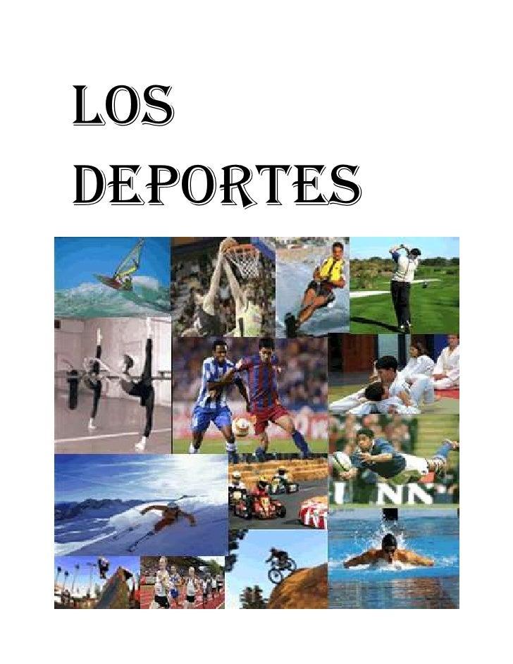 Los Deportes<br />INDICE<br />LOS DEPORTES………………………1<br />EL FUTBOL…………………………….3<br />EL VOLEIBOL…………………………8<br />FRONTÓN…...