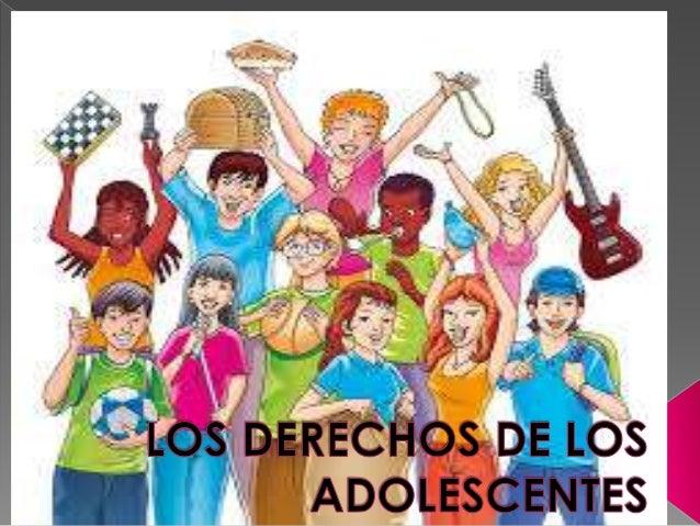 Los derechos de los adolescentes for Derechos de los jovenes