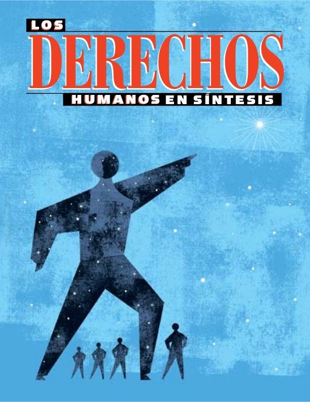 Los derechos humanos en sintesis