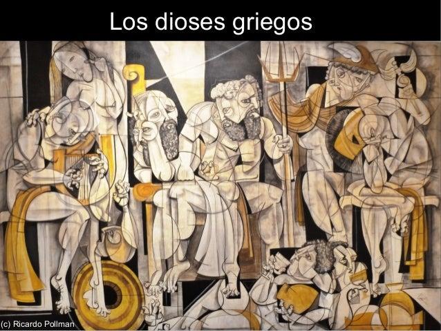 Los dioses griegos(c) Ricardo Pollman