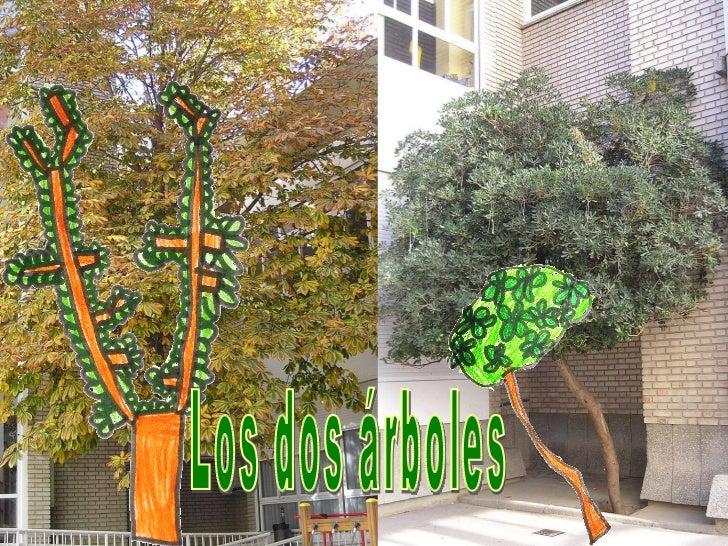 Los dos árboles