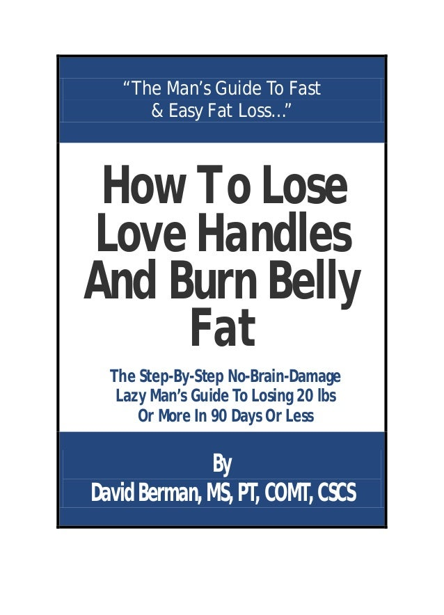 How To Lose Love Handles And Burn Belly fat
