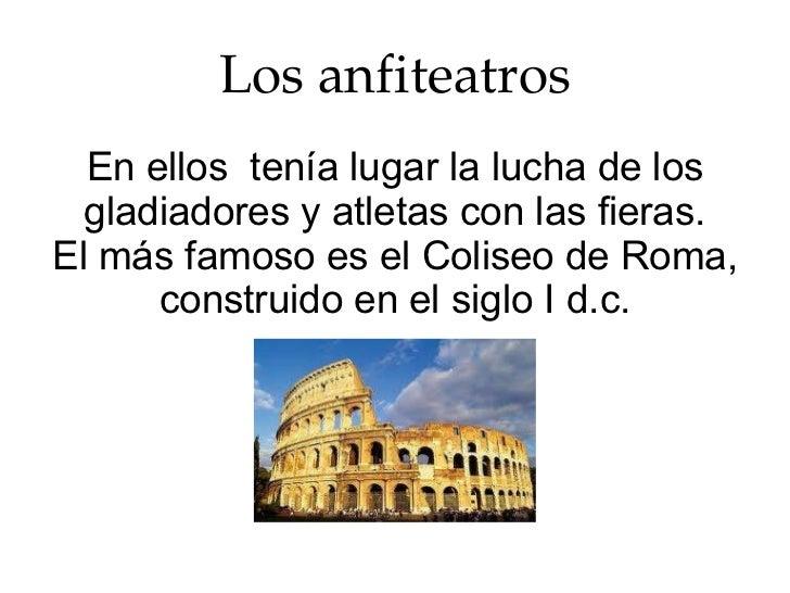 Baños Roma Obra De Teatro:Los edificios públicos en la Antigua Roma Cris