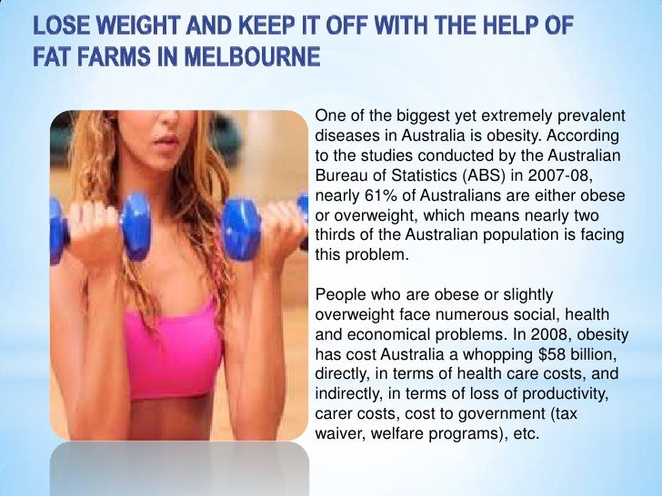 Lose weight and keep it off with the help of fat farms in melbourne  ontrackretreats.com.au