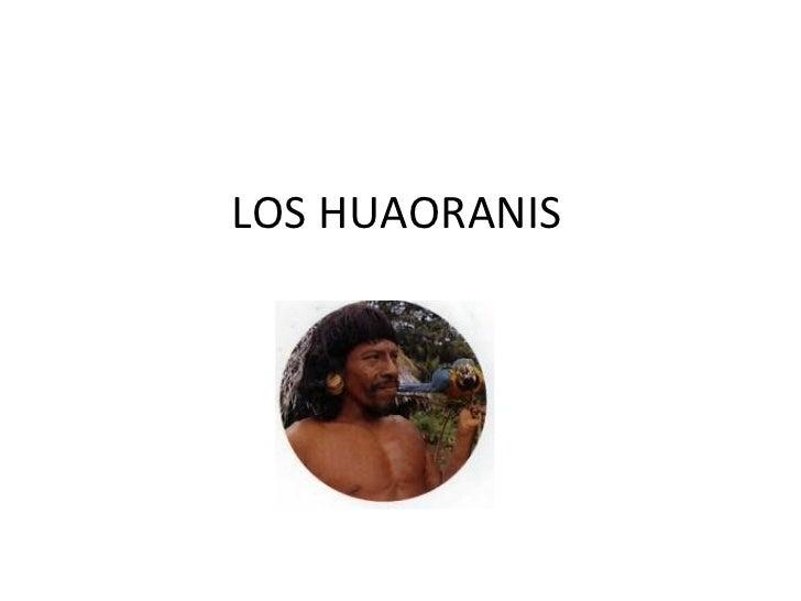 Los Huaoranis