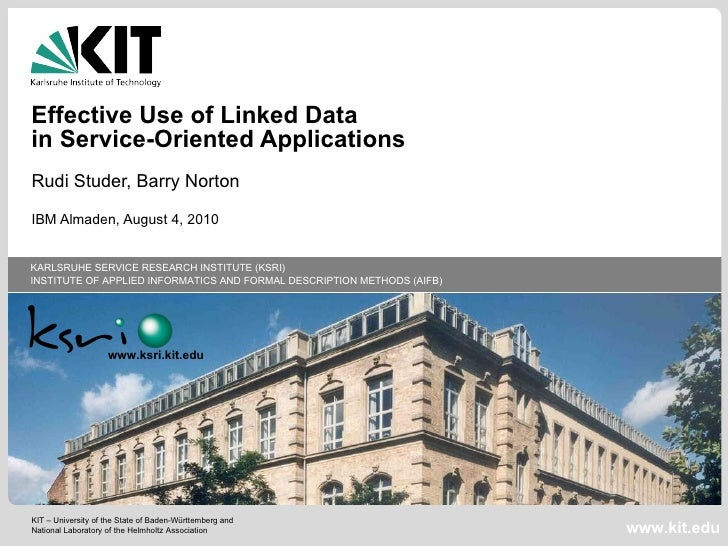 Linked Open Services for Effective Use of Linked Data in SOA