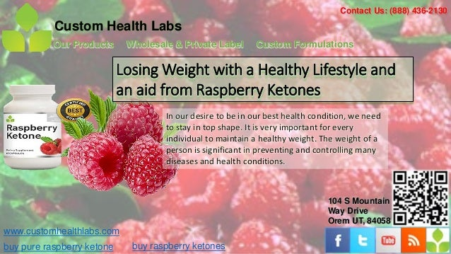 Losing weight with a healthy lifestyle and an aid from raspberry ketones