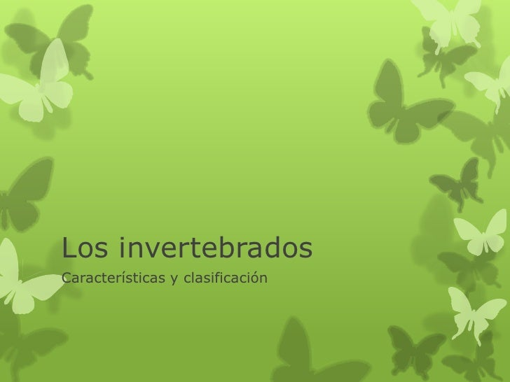 Los invertebrados[1]