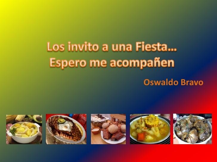 Oswaldo Bravo