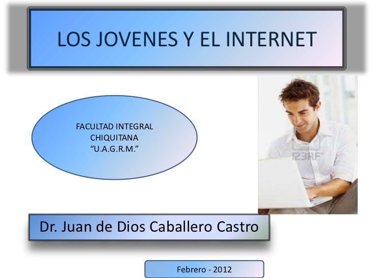 Los jovenes y el internet diapositivas