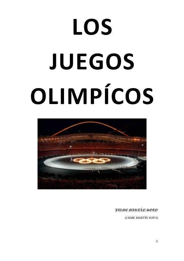 Los juegos olimpícos con índice