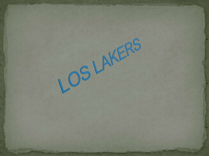 LOS LAKERS<br />