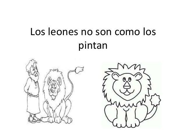 Los leones no son como los pintan