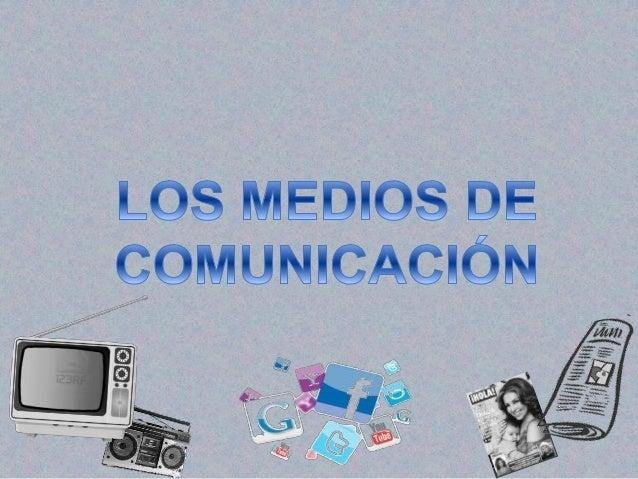 Son instrumentos utilizados en la sociedad contemporánea para informar y comunicar mensajes en versión textual, sonora, vi...