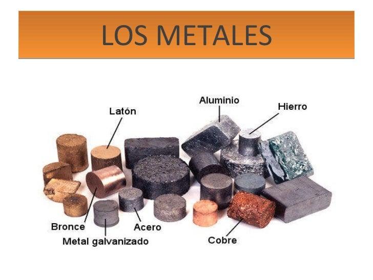 LOS METALES