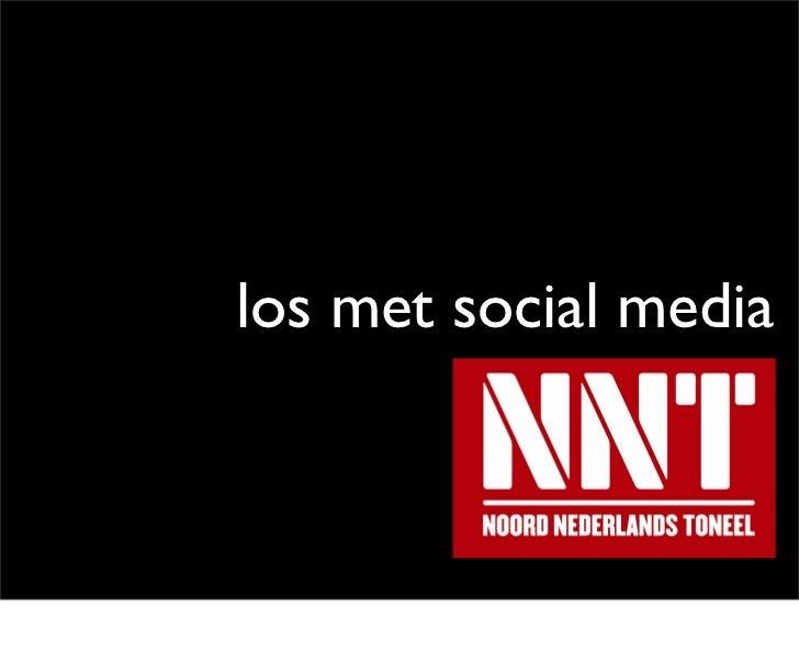 Los met social media @nntgroningen