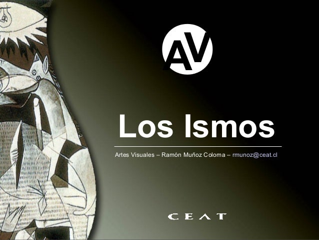 AVLos IsmosArtes Visuales – Ramón Muñoz Coloma – rmunoz@ceat.cl