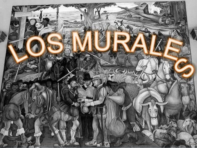 Introducción• En el presente trabajo daremos a conocer:1. Historia de los murales2. Tipos de murales que existen3. Máximos...